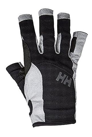 Helly Hansen Sailing Gloves Unisex, Mens, SAILING GLOVE SHORT, black