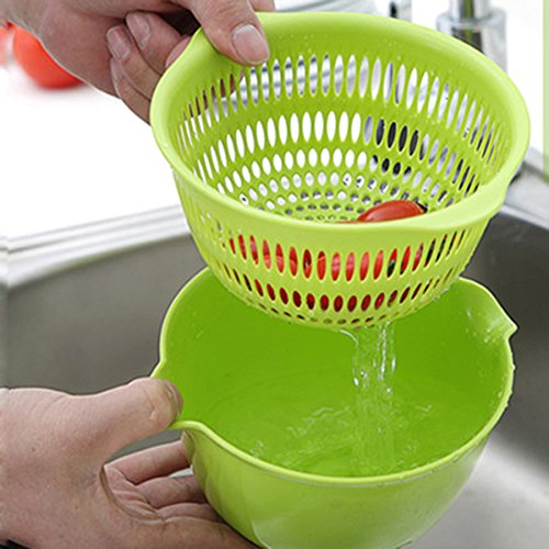 practical-kitchen-gadgets-double-layer-vegetable-pots-drain-basin-kitchen-plastic-fruit-basket-wash-