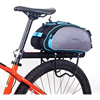 05759f39f01 Roswheel Cycling Bicycle Bag Bike Outdoor Travel Rear Seat Bag Pannier 13L