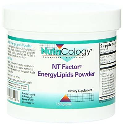 Nutricology/ Allergy Research Group NT Factor Energy Lipids Powder, 150 GRAMS by Nutricology/ Allergy Research Group