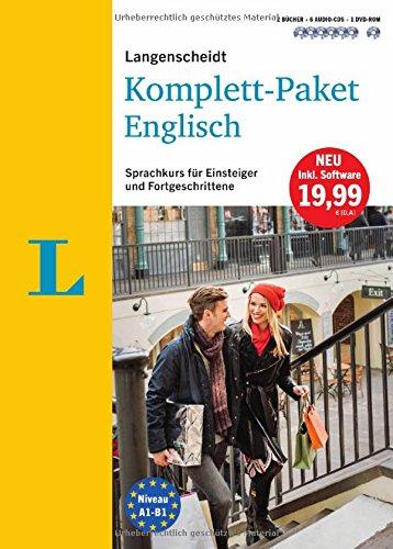 Preisvergleich Produktbild Langenscheidt Komplett-Paket Englisch - Sprachkurs mit 2 Büchern, 6 Audio-CDs, 1 DVD-ROM, MP3-Download: Sprachkurs für Einsteiger und Fortgeschrittene