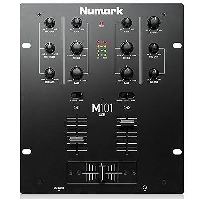 Numark M101 USB DJ Mixer from Numark