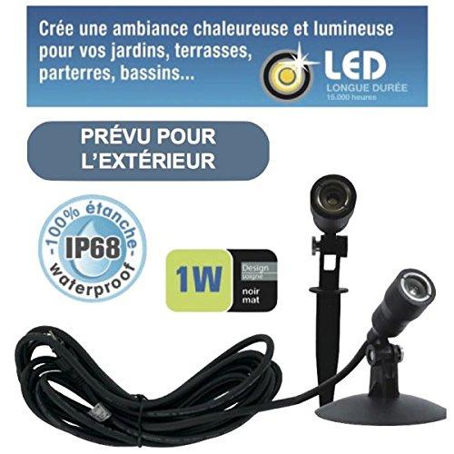 Spot LED 1W étanche IP68