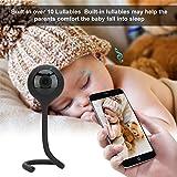 lailongp - Babyphone wireless con fotocamera digitale, visione notturna, controllo della temperatura e sistema Talkback a 2 vie, WiFi Phone Remote Control, colore: Verde