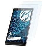 Bruni Schutzfolie für Medion LIFETAB X10313 (MD60877) Folie - 2 x glasklare Displayschutzfolie