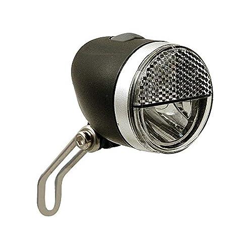LED-Scheinwerfer Secu Sport S m. Halter ca.40 Lux f. Nabendynamo schwarz Fahrrad