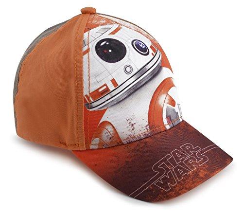 Disney Jungen Baseball Cap Orange Star Wars bb-8 Gr. 2 Jahre, Orange