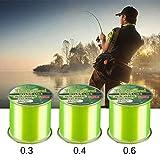 creatspaceDE Fishing 500m Superstarke Daiwa Justron Nylon Angelschnur 2LB - 40LB 4 Farben Japan...