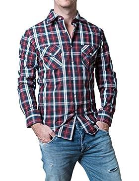 Banqert -  Camicia Casual  - A quadri - Uomo