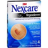 Nexcare Tegaderm transparent Dressings 10,2cm X 4–3/10,2cm je 4 preisvergleich bei billige-tabletten.eu