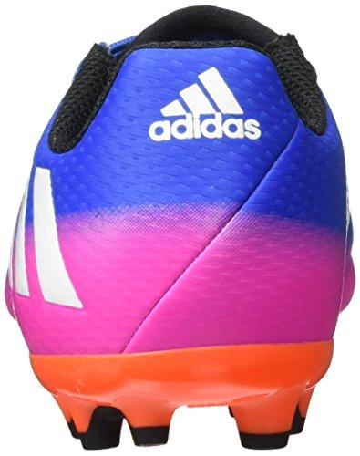 adidas Unisex-Kinder Messi 16.3 Ag J Fußballschuhe Blau (Blue/Ftw White/Sorang)