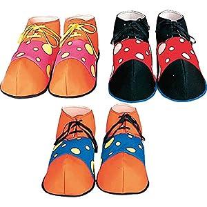 Widmann-ac1882-Zapatos de payaso Augusto Assorti , Modelos/colores Surtidos, 1 Unidad