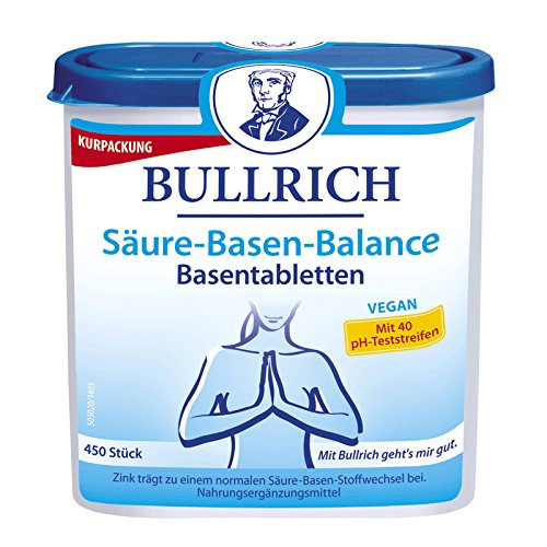 Bullrich Säure-Basen-Balance Basentabletten, 450 St.