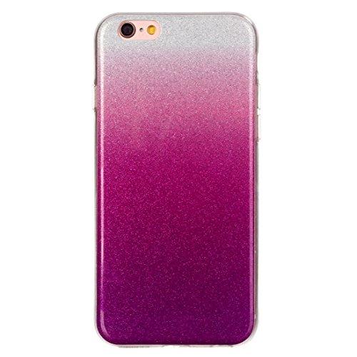 Pour iPhone 6 Plus / 6s Plus, IMD Color Fades Glitter Powder TPU Housse de protection YAN ( SKU : IP6P8855L ) IP6P8855A