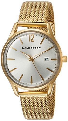 "Lancaster Paris ""Heritage"" reloj de pulsera blanco mujer"
