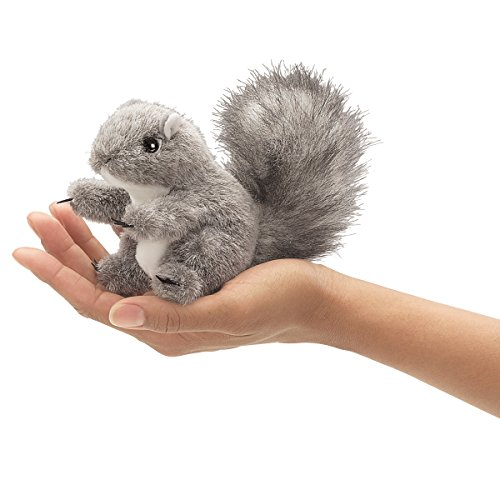 Folkmanis Puppets 2648 - Mini Eichhörnchen -