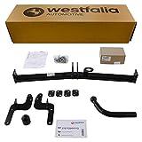 Westfalia Starre Anhängerkupplung für 207 (BJ ab 04/2006) im Set mit 13-poligem fahrzeugspezifischen Elektrosatz