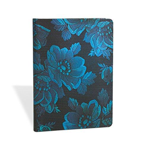 Schick und Satin Blaue Muse - Notizbuch Midi Liniert - Paperblanks -
