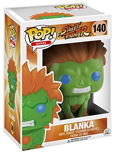 Funko Pop Blanka (Street Fighter 140) Funko Pop Street Fighter