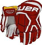 Bauer Supreme 170 Handschuhe Junior, Größe:11 Zoll, Farbe:schwarz/weiß