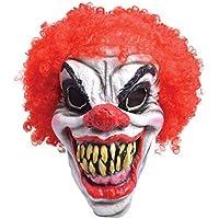 Rubie's BM461 - Maschera Clown Horror con Parrucca, Taglia Unica
