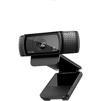 Logitech C920 Webcam Full HD, 1080p, Microfono Integrato e senza Treppiedi, Funziona con Xbox One