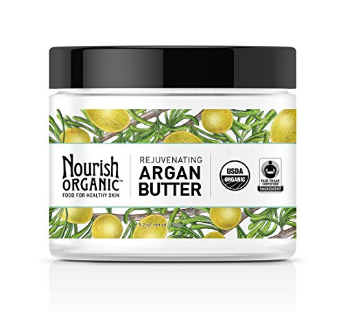 Nourish Organic Rejuvenating Argan Butter, 5.2 Ounce by Nourish Organic