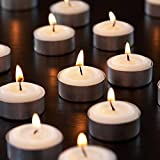 Dreams® Tea-Light Candle (10G Each Unscented) Set Of 100 - (Burn Time : 4 Hour)