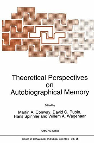 Theoretical Perspectives on Autobiographical Memory: Proceedings of the NATO Advanced Research Workshop, Grange-over-Sands, U.K., July 4-12, 1991 (Nato Science Series D:)