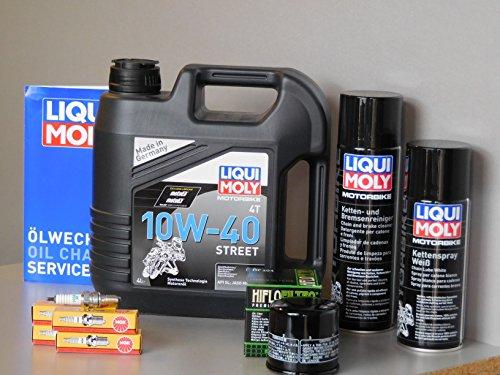Kit di manutenzione Motocicletta Honda CB 900F Hornet Service ispezione candela olio