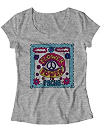 Flower Power In Pacha Womens T-Shirt