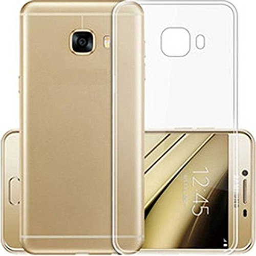 Samsung Galaxy J7 Max Totu Cases Plain Soft Ruber Silicon Back Cover - Transparent
