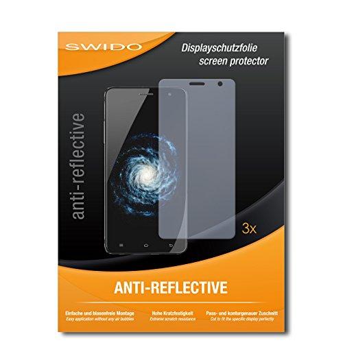 SWIDO® Bildschirmschutzfolie für Cubot H1 [3 Stück] Anti-Reflex MATT Entspiegelnd, Extrem Kratzfest, Schutz vor Kratzer/Bildschirmschutz, Schutzfolie, Panzerfolie