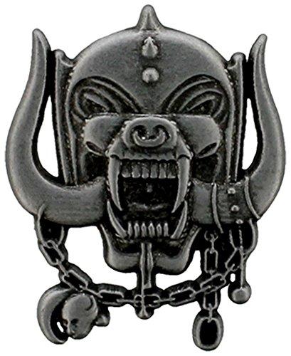 Motörhead Metal Warpig Pin grau