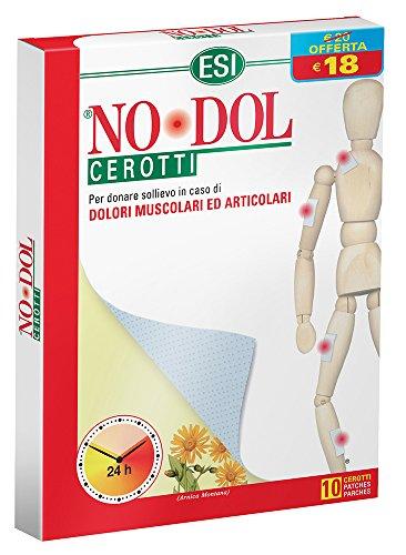 Esi no dol cerotti - cerotti dolori muscolari articolari, confezione da 10 unità