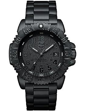 Luminox Navy SEAL Steel Colormark Herren-Armbanduhr Analog Quarz Edelstahl - XS.3152.BO.NV