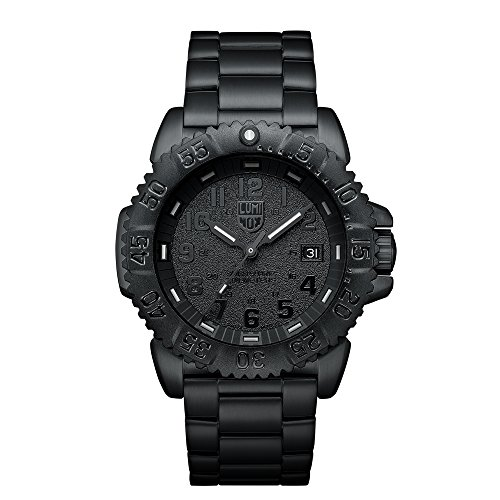 Luminox Navy SEAL Steel Colormark Herren-Armbanduhr Analog Quarz Edelstahl - XS.3152.BO.NV
