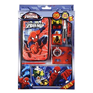 "Zubehör Set 16in1 für Nintendo DS Lite i XL 3DS ""Ultimate Spiderman"""