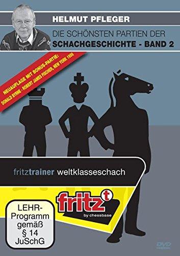 Helmut Pfleger - Die schönsten Partien der Schachgeschichte Band 2 (Die Schach-spieler Dvd)