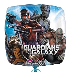 Guardians of The Galaxy Non Message 18 Inch Foil Balloon by Guardians of the Galaxy