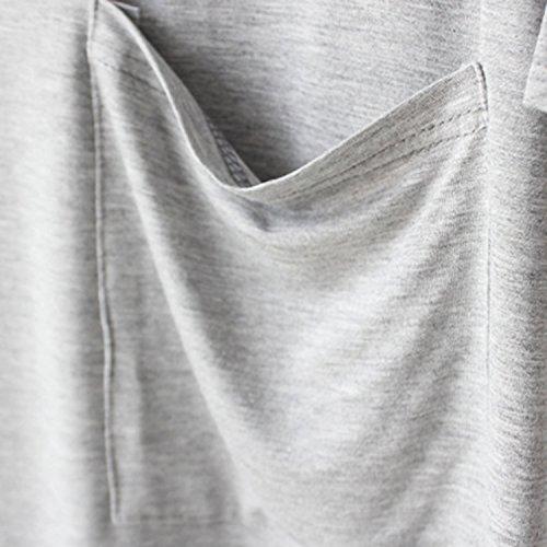 Futurino - Robe - Femme Gris