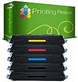 Printing Pleasure 5er Set Toner kompatibel zu 124A für HP Color Laserjet 1600, 1600n, 2600, 2600n, 2600dn, 2600nse, 2605, 2605d, 2605dn, 2605dtn, CM1015 MFP, CM1017 MFP