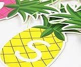 SUNBEAUTY Ananas Girlande SUMMER Buchstaben Banner Sommerparty Dekoration - 6