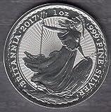 Silbermünze Britannia 2018 1oz - 1 Unze Silber aus Großbritannien - einzeln in Münzkapsel verpackt