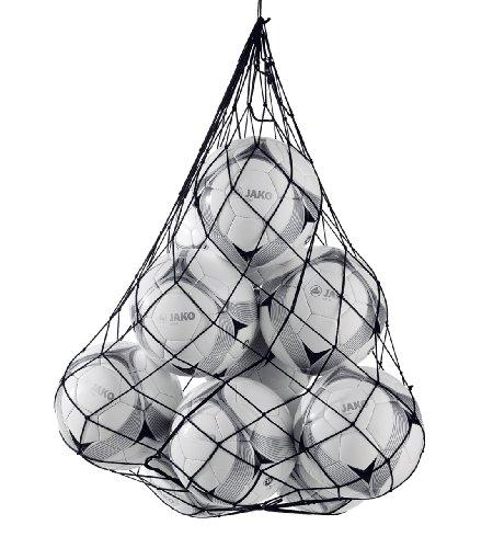 JAKO Fußball Ballnetz - Red para balones ( blanco ), color blanco