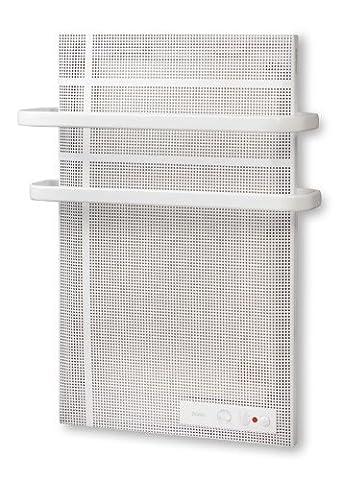 Mica-thermische Badezimmer Wand-Heizung inkl. Handtuchhalterung - Elektro E-Heiz-Strahler mit Anti-Frost-Funktion und Spritwasserschutz - elektrische Heizung - mit 1000 Watt - Neu und OVP!
