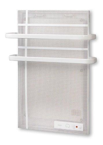 Dusche-heizung-elektro (Mica-thermische Badezimmer Wand-Heizung inkl. Handtuchhalterung - Elektro E-Heiz-Strahler mit Anti-Frost-Funktion und Spritwasserschutz - elektrische Heizung - mit 1000 Watt - Neu und OVP!)