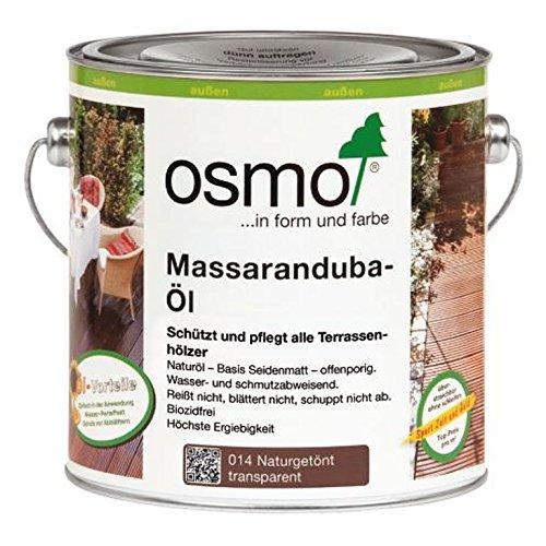 Osmo Massaranduba-Öl naturgetönt 2,5 Liter