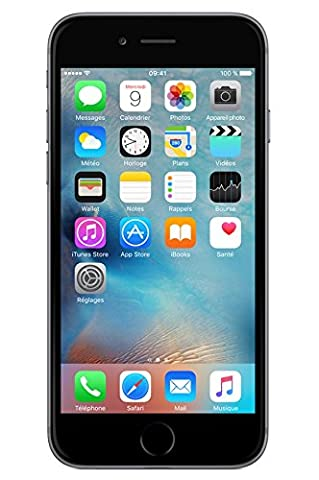 Apple iPhone 6 64 Go Gris sidéral Reconditionné [Remade In France]