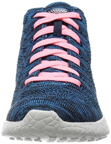 Skechers Burst-Divergent Donna Tessile Scarpe ginnastica Blu